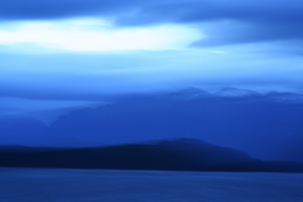 blue hour 4 (Lake Manapouri, NZ 2007)